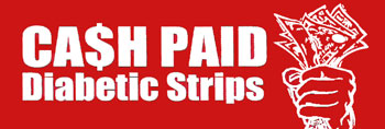 Cash for Diabetic Strips Logo